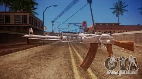 AK-47 v4 from Battlefield Hardline pour GTA San Andreas