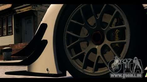 Radical SR8 RX pour GTA 4 Vue arrière