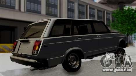 VAZ 21047 pour GTA San Andreas sur la vue arrière gauche