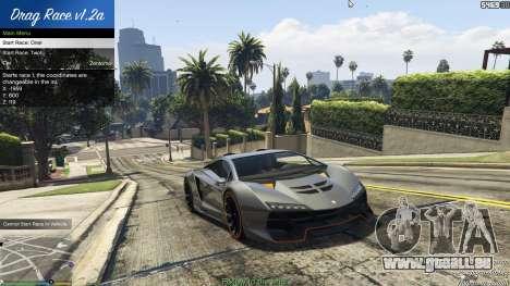GTA 5 Drag Race 1.2a quatrième capture d'écran