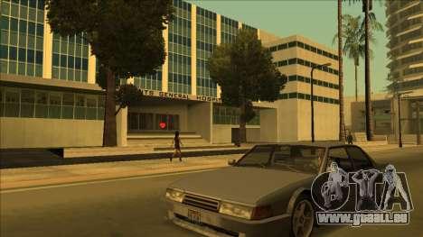 HP micros près des hôpitaux dans l'état pour GTA San Andreas