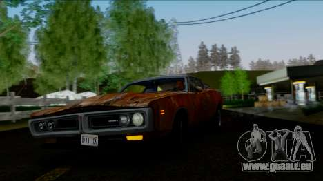 Dodge Charger Super Bee 426 Hemi (WS23) 1971 IVF für GTA San Andreas Innen