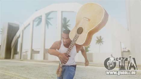 Red Dead Redemption Guitar für GTA San Andreas dritten Screenshot