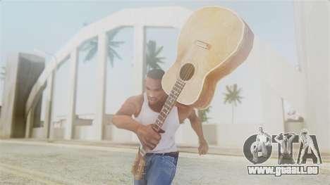 Red Dead Redemption Guitar pour GTA San Andreas troisième écran