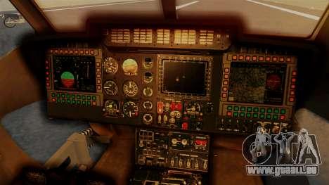 PZL W-3PL Grouse pour GTA San Andreas vue arrière