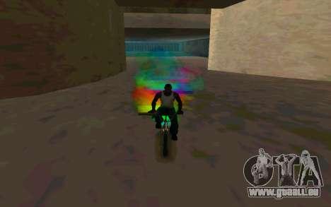 Bike Smoke pour GTA San Andreas quatrième écran