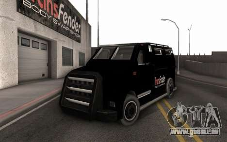 Machine de livraison des pièces tuning pour GTA San Andreas