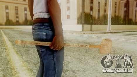 Red Dead Redemption Shovel für GTA San Andreas zweiten Screenshot