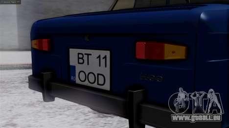 Dacia 1100 für GTA San Andreas Rückansicht