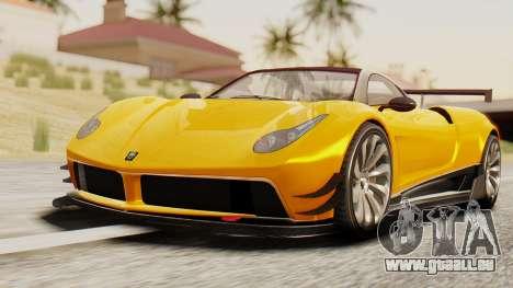 Pegassi Osyra Full Extras für GTA San Andreas