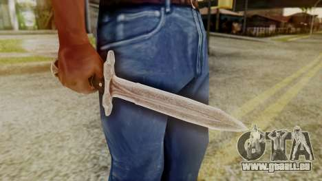 Iron Dagger für GTA San Andreas zweiten Screenshot