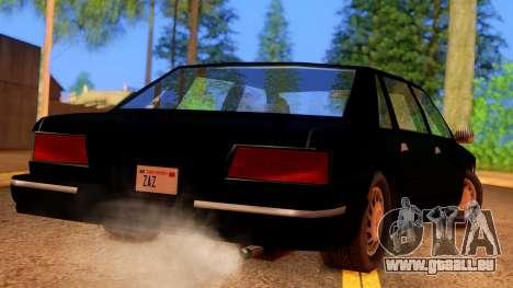 FBI Undercover Unmarked Premier für GTA San Andreas linke Ansicht