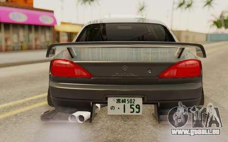 Nissan Silvia S15 Stance für GTA San Andreas Rückansicht