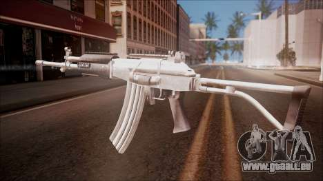 Galil AR v1 from Battlefield Hardline für GTA San Andreas zweiten Screenshot