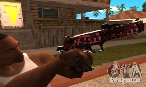 Lamen Deagle pour GTA San Andreas troisième écran