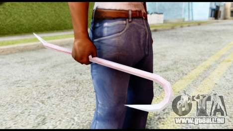 Manhunt Crowbar pour GTA San Andreas deuxième écran