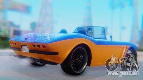 Invetero Coquette BlackFin v2 SA Plate für GTA San Andreas linke Ansicht