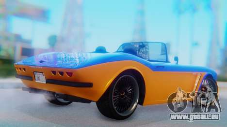 Invetero Coquette BlackFin v2 SA Plate pour GTA San Andreas laissé vue