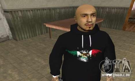 Rifa Skin First für GTA San Andreas