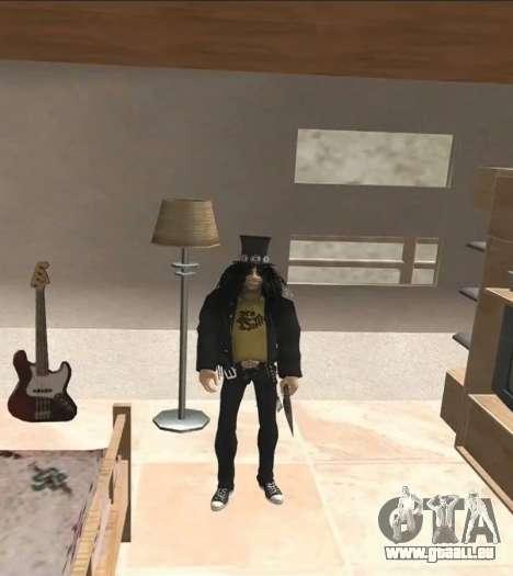 Slash pour GTA San Andreas deuxième écran