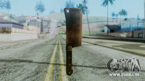 Cleaver from Silent Hill Downpour für GTA San Andreas zweiten Screenshot