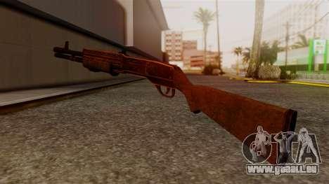 BlueSteel Shotgun für GTA San Andreas zweiten Screenshot