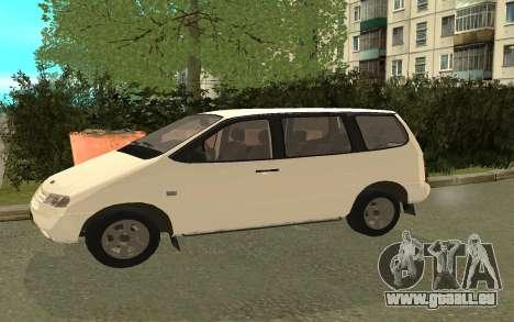 VAZ 2120 pour GTA San Andreas sur la vue arrière gauche