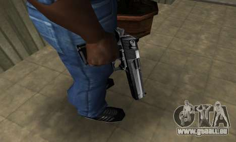 Full Silver Deagle pour GTA San Andreas deuxième écran