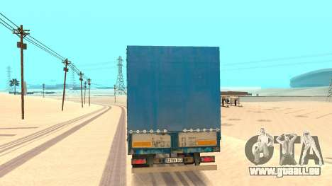 Tilt trailer für GTA San Andreas zurück linke Ansicht