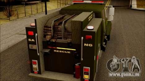 SANG Combat Rescue International für GTA San Andreas Seitenansicht