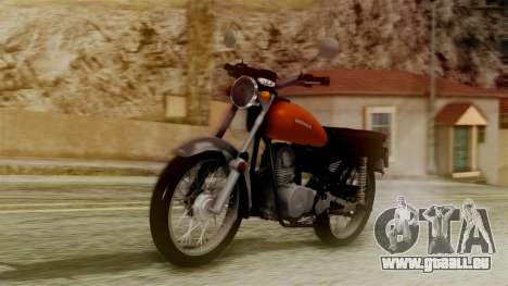 Honda CG 125 Classic pour GTA San Andreas