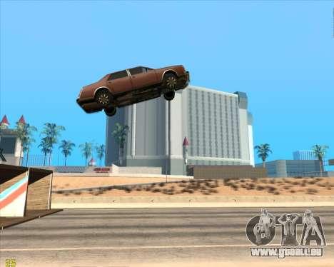 Tremplin pour GTA San Andreas deuxième écran