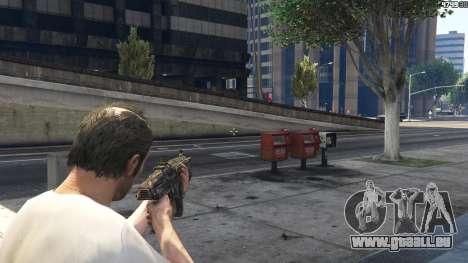GTA 5 Gears of War Lancer 1.0.0 achten Screenshot