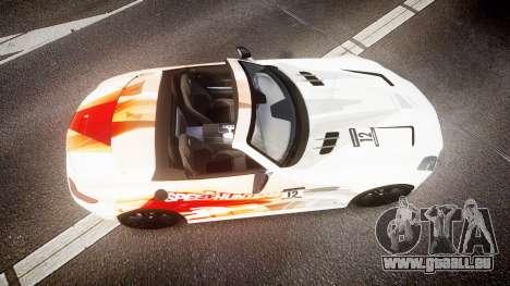 Mercedes-Benz SLS AMG pour GTA 4 est un droit