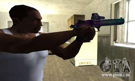 Space Deagle pour GTA San Andreas deuxième écran