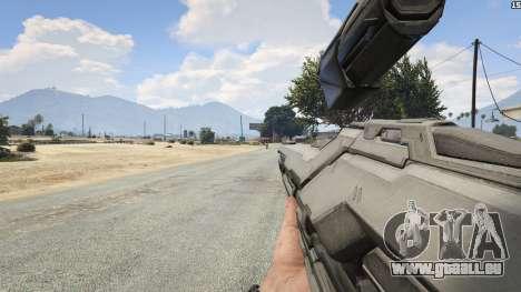 GTA 5 Halo 5 Light Rifle 1.0.0 achten Screenshot