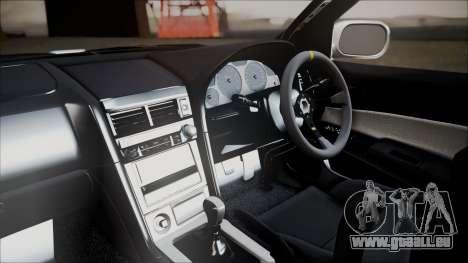Nissan Skyline ER34 GT-Shop pour GTA San Andreas vue de droite