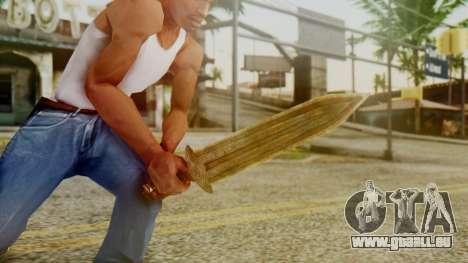 Dwarven Dagger pour GTA San Andreas troisième écran