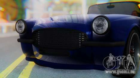 Invetero Coquette BlackFin v2 SA Plate pour GTA San Andreas salon