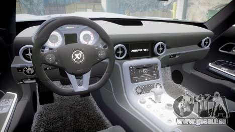 Mercedes-Benz SLS AMG pour GTA 4 Vue arrière