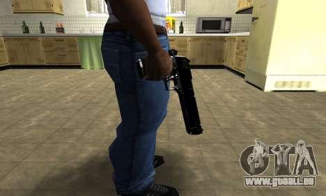 Black Cool Deagle für GTA San Andreas dritten Screenshot