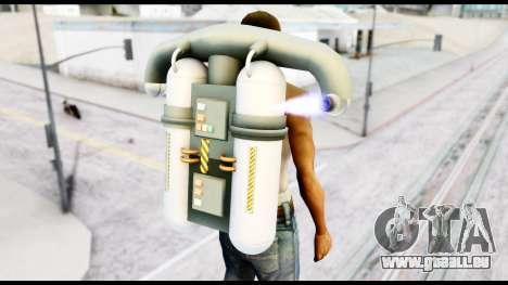 New SA Jetpack pour GTA San Andreas troisième écran