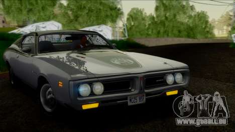 Dodge Charger Super Bee 426 Hemi (WS23) 1971 IVF pour GTA San Andreas vue de droite