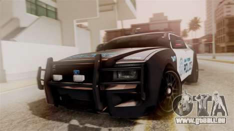 Hunter Citizen from Burnout Paradise Police SF pour GTA San Andreas