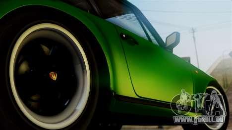 Porsche 911 Turbo (930) 1985 Kit A PJ für GTA San Andreas zurück linke Ansicht