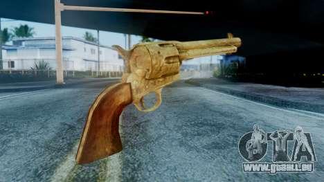 Red Dead Redemption Revolver Cattleman Sergio pour GTA San Andreas deuxième écran