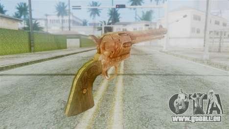 Red Dead Redemption Revolver Diego Nueva pour GTA San Andreas deuxième écran