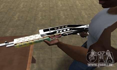 Ganja SPAS-12 pour GTA San Andreas deuxième écran