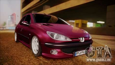 Peugeot 206 Al Piso für GTA San Andreas