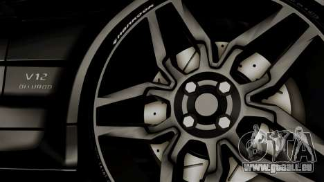 Mercedes-Benz SL65 E-Tuning pour GTA San Andreas sur la vue arrière gauche